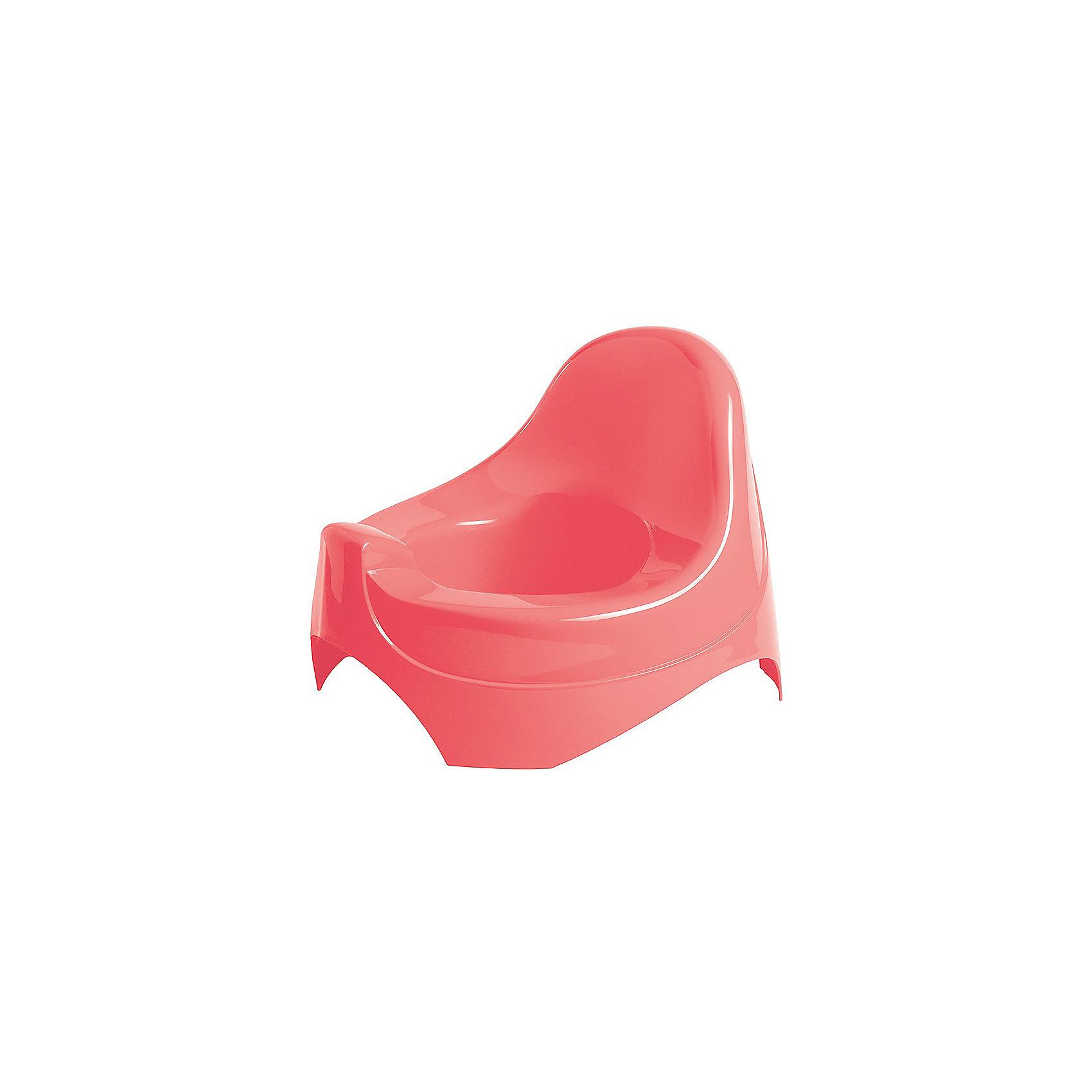 Горшок детский, Пластишка, розовый