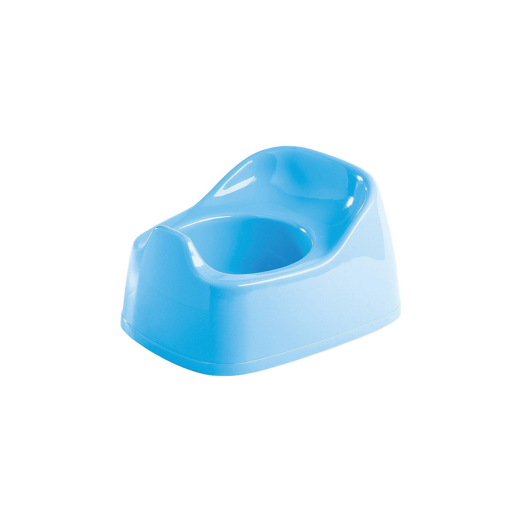 Горшок детский, Пластишка, голубой