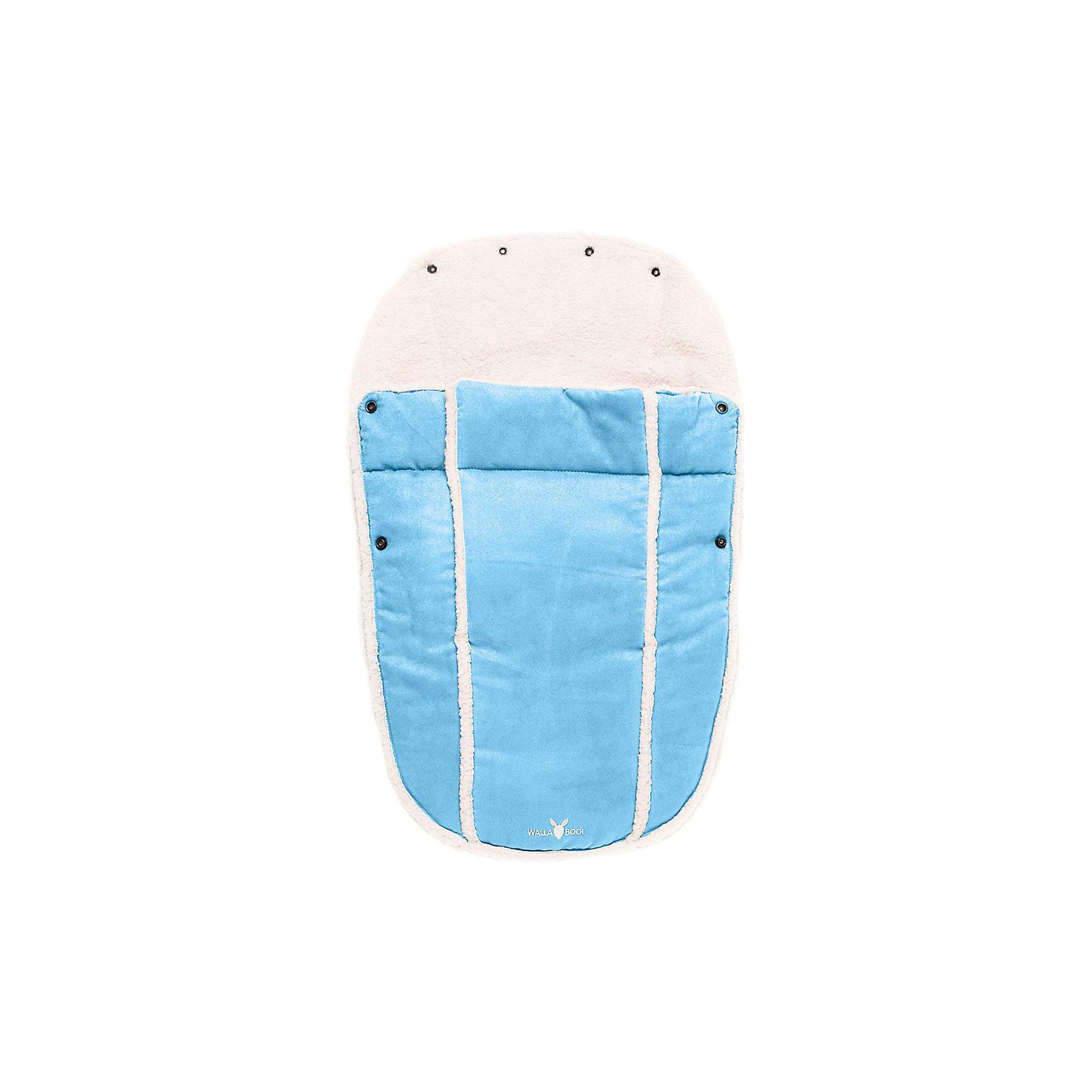 Конверт в коляску 0-12 месяцев,Wallaboo, голубой