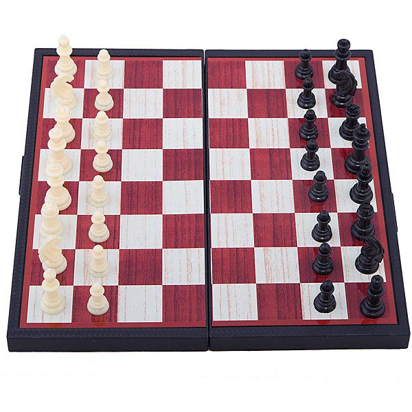 Играем вместе Магнитные шахматы 3-в-1: шахматы, шашки, нарды, Играем вместе настольная игра нарды шахматы нарды дорожные в ассортименте а 1