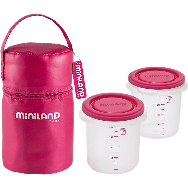 Miniland Термосумка с мерными стаканчиками HERMISIZED цена