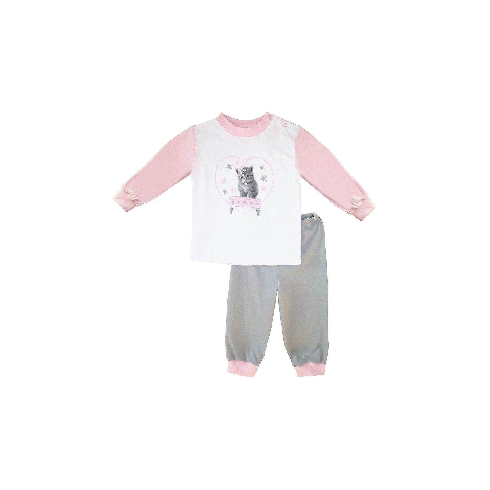 Пижама для девочки КотМарКот
