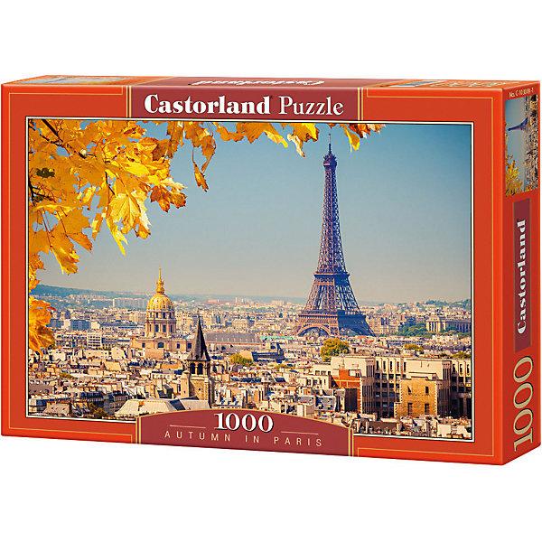 Castorland Пазл Осень в Париже, 1000 деталей, Castorland пазл мечты о париже 1000 шт