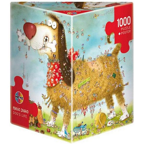 Купить Пазл Собачья жизнь , 1000 деталей, Heye, Германия, Унисекс