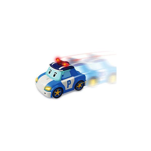 Silverlit Поли - следуй за мной! на р/у, Робокар Поли развивающие игрушки playgo уточка следуй за мной