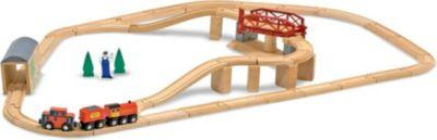 Дорога с вращающимся мостом, Melissa & Doug, артикул:3861970 - Игрушки для мальчиков