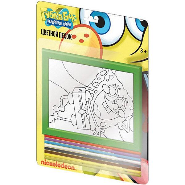CENTRUM Набор-панно из цветного песка, Губка Боб набор для детского творчества centrum набор цветного песка ever after high эппл
