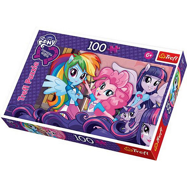 Trefl Пазл My little Pony, 100 деталей, Trefl trefl пазл врсар истрия trefl 3000 деталей