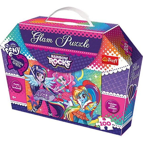 Trefl Пазлы Trefl «Радужный рок», 100 элементов пазлы trefl пазл для девочек монстр хай 100 деталей