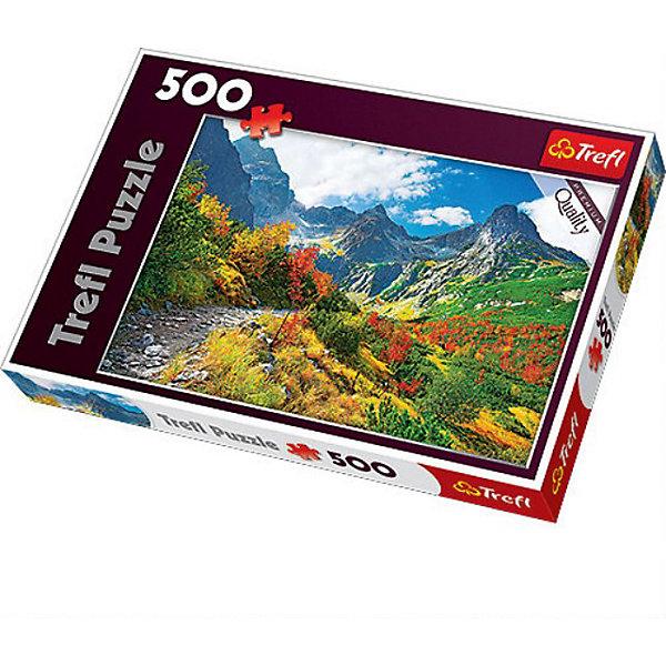 Купить Пазлы Trefl Осень Татры, 500 деталей, Польша, Унисекс