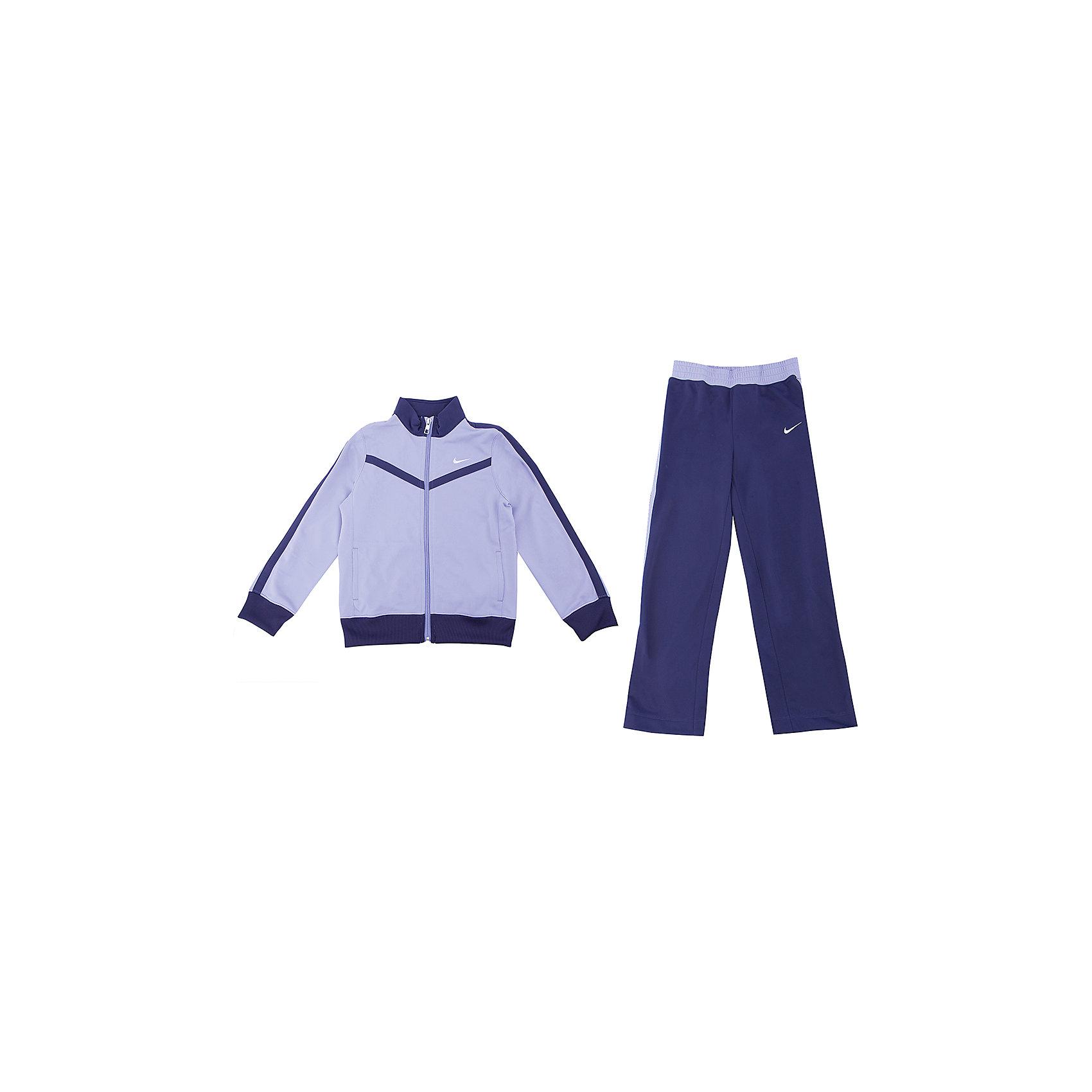 Спортивный костюм для девочки T40 TRICOT WARM UP LK NIKE