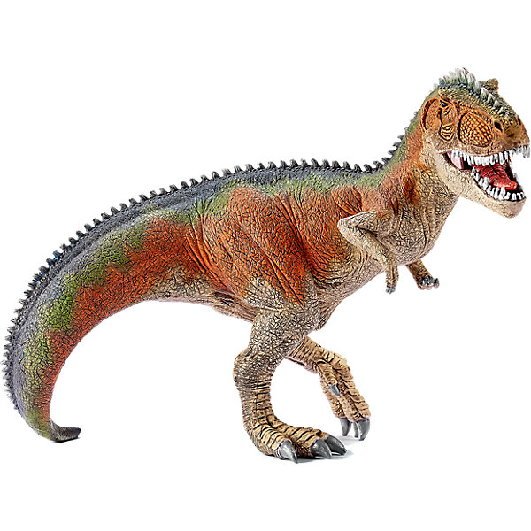 Коллекционная фигурка Schleich Динозавры ГигантозаврМир животных<br>Характеристики:<br><br>• возраст: от 3 лет;<br>• материал: каучуковый пластик;<br>• размер игрушки: 11,6х21,5х14,7 см;<br>• вес упаковки: 505 гр.;<br>• размер упаковки: 11,6х21,5х14,7 см;<br>• страна бренда: Германия.<br><br>Фигурка от бренда Schleich – детализированная копия вымершего гигантозавра. Фигурка с точностью передает особенности строения тела животного, внешний вид кожи, характерную позу. Нижняя челюсть подвижна.<br><br>В изготовлении каждой фигурки «Шляйх» учитываются рекомендации педагогики для того, чтобы игрушка была интересна и полезна ребенку, комфортно располагалась в руках. Фигурка раскрашена вручную, сделана из прочных безопасных материалов, не вызывающих аллергию. Разработано при участии музея зоологии.<br><br>Фигурка подойдет для сюжетно-ролевых игр, а также может стать частью большой коллекции реалистичных копий животных Schleich.<br><br>Фигурку Schleich Гигантозавр можно купить в нашем интернет-магазине.<br>Ширина мм: 244; Глубина мм: 218; Высота мм: 116; Вес г: 501; Возраст от месяцев: 36; Возраст до месяцев: 96; Пол: Мужской; Возраст: Детский; SKU: 3902526;