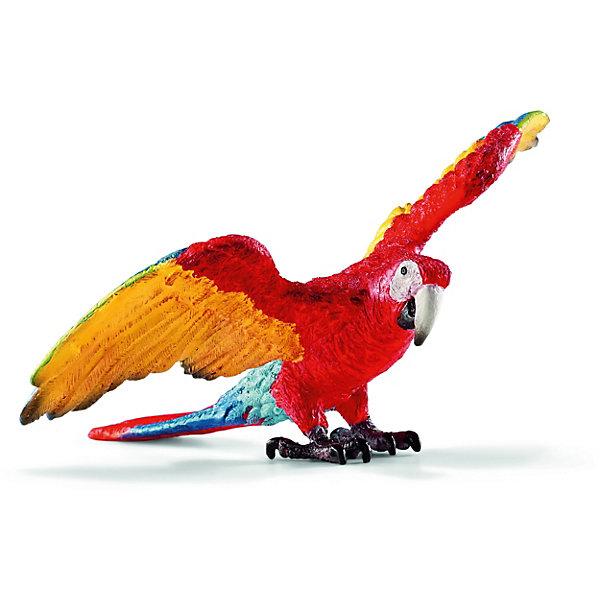 Schleich Коллекционная фигурка Schleich Дикие животные Попугай Ара schleich дракон летун schleich