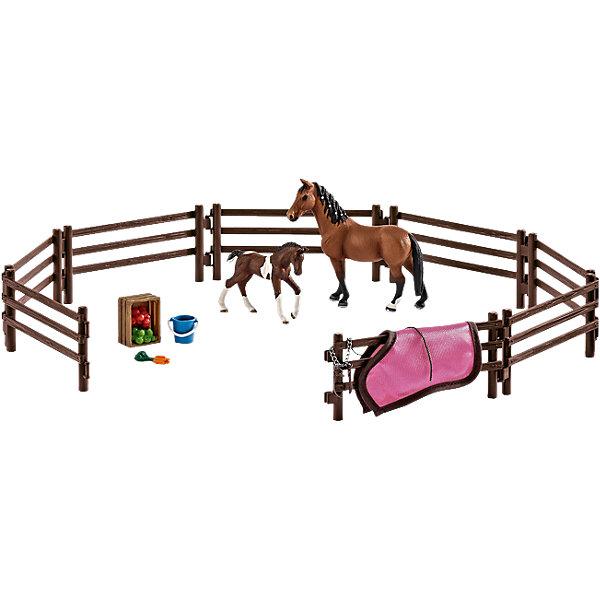 Schleich Набор Загон (без животных и аксессуаров), Schleich schleich корм для коров и телят