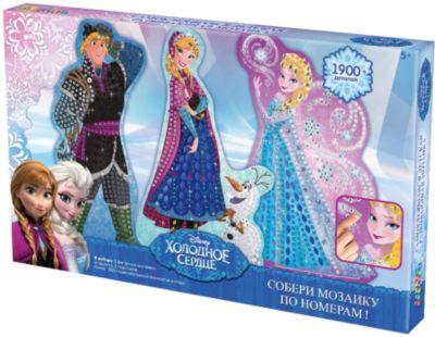 Мозаика-набор 3 в 1  Холодное сердце , Оригами, артикул:3911460 - Принцессы Дисней