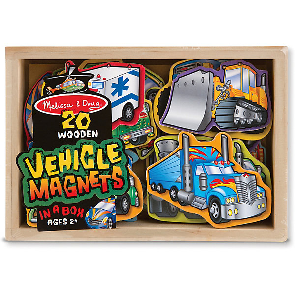 """Фотография товара магнитная игра """"Автомобили"""", Melissa & Doug (3927716)"""