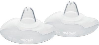 Накладки на грудь силиконовые  КОНТАКТ  2шт/уп  M  , Medela, артикул:3937713 - Всё для мам