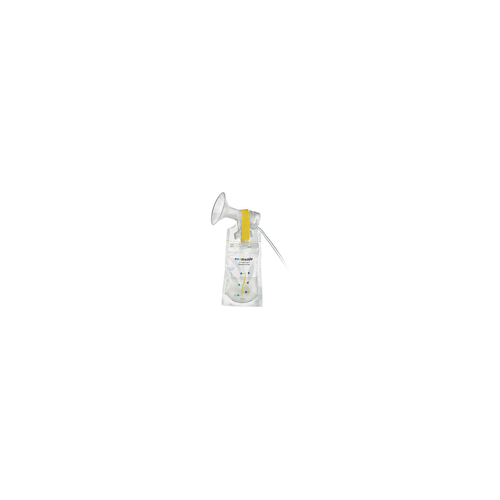 Пакеты одноразовые Pump  Save для сбора и хранения грудного молока 20шт., Medela