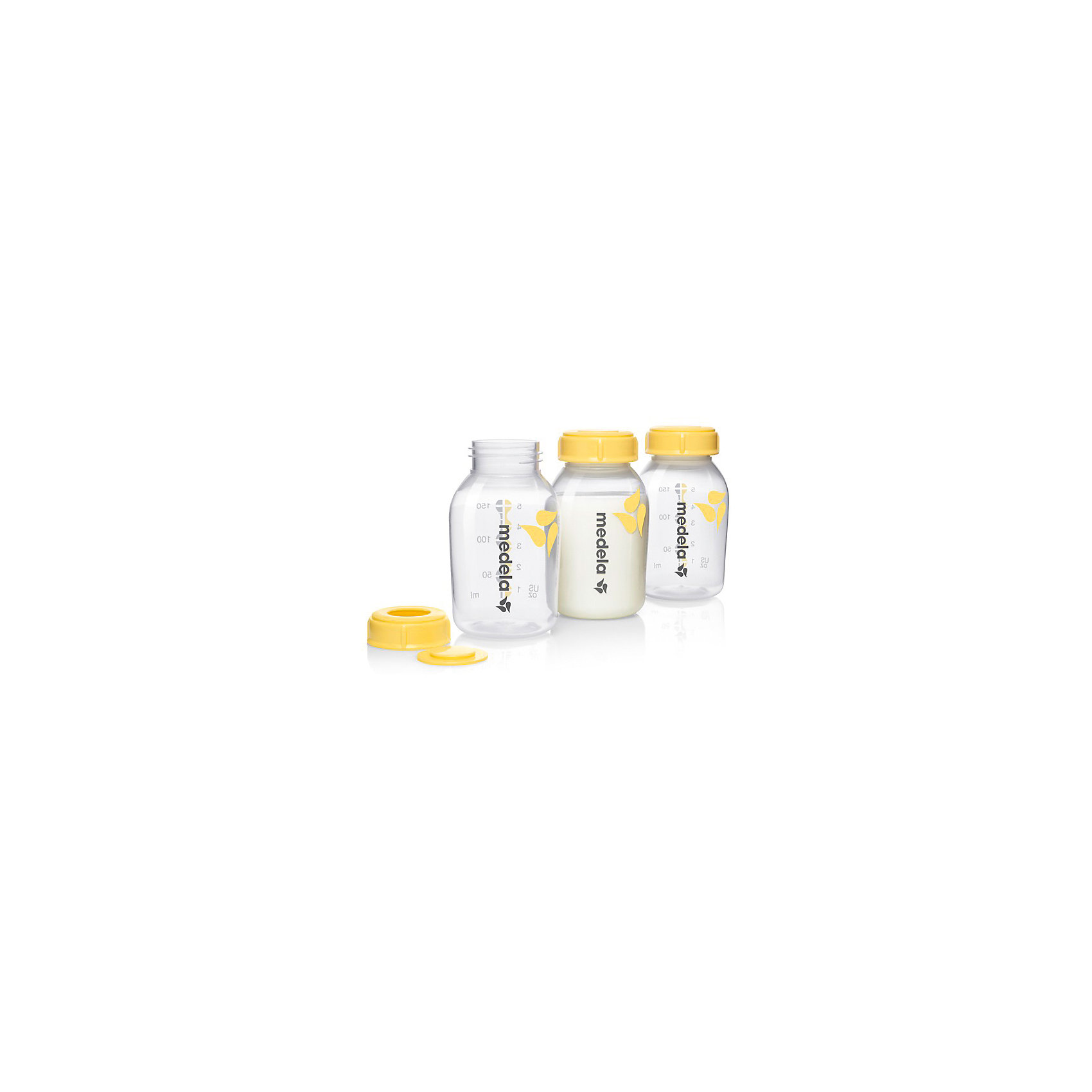 Контейнеры для сбора грудного молока, 150 мл /3 шт, Medela