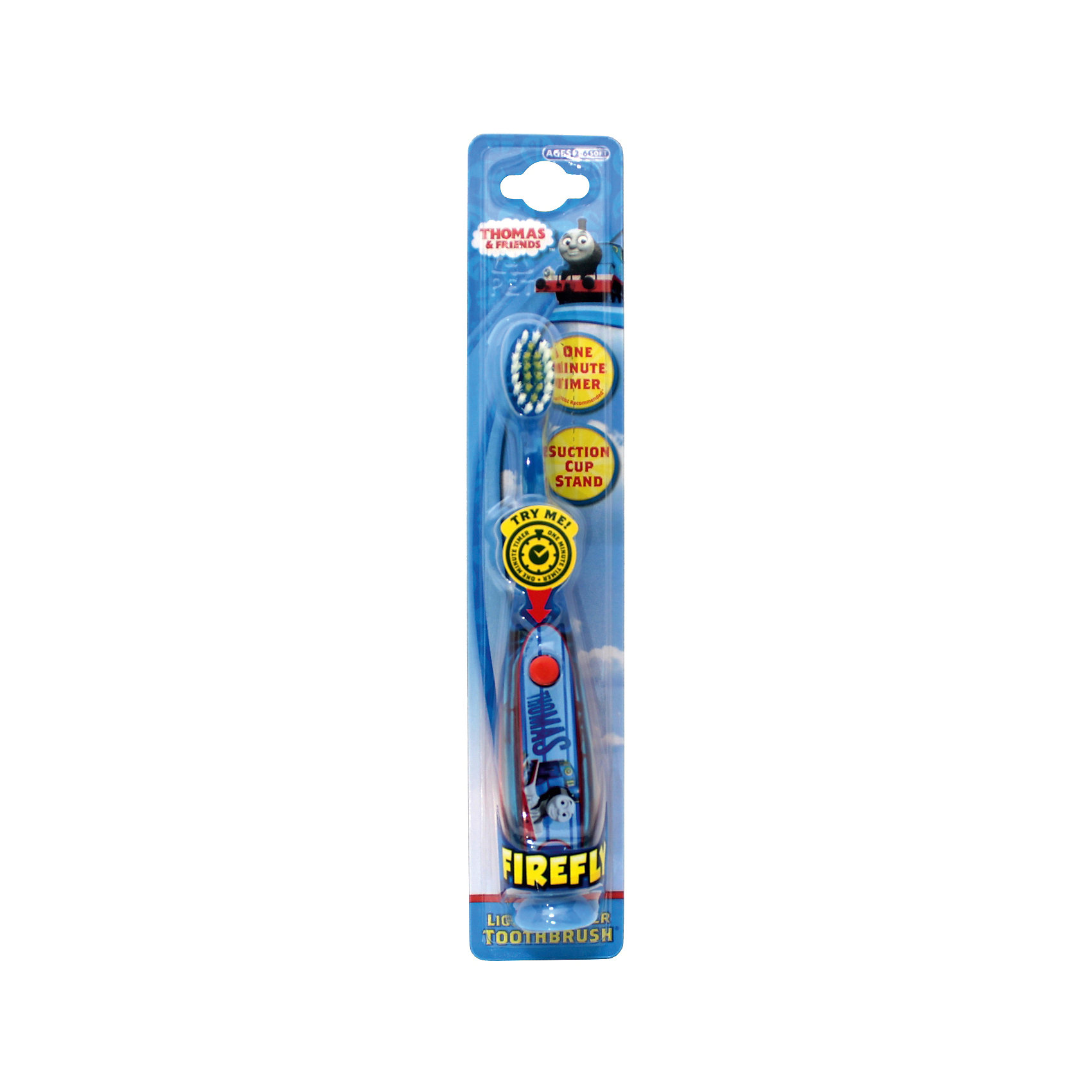 Зубная щетка Паровозик Thomas с мигающим таймером, Firefly