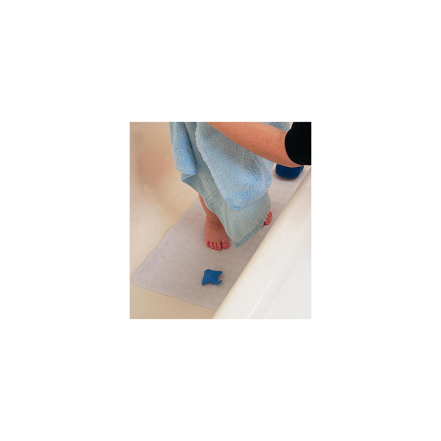 Коврик для ванны, Clippasafe, белый