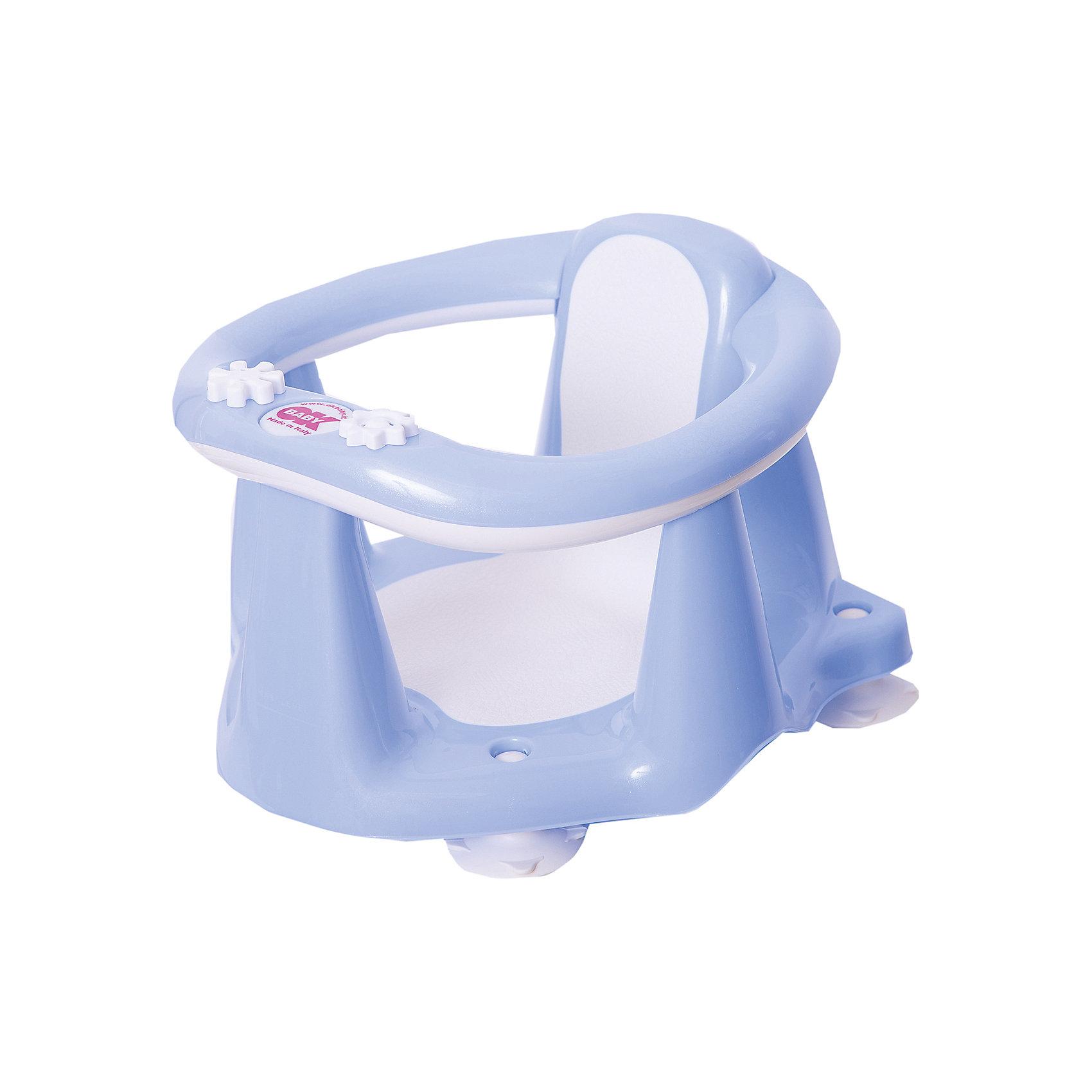 Сиденье в ванну Flipper Evolution, OK Baby, голубой