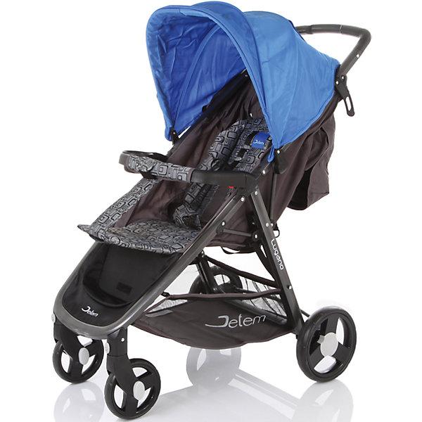 Jetem Прогулочная коляска Jetem Lugano, синий цена