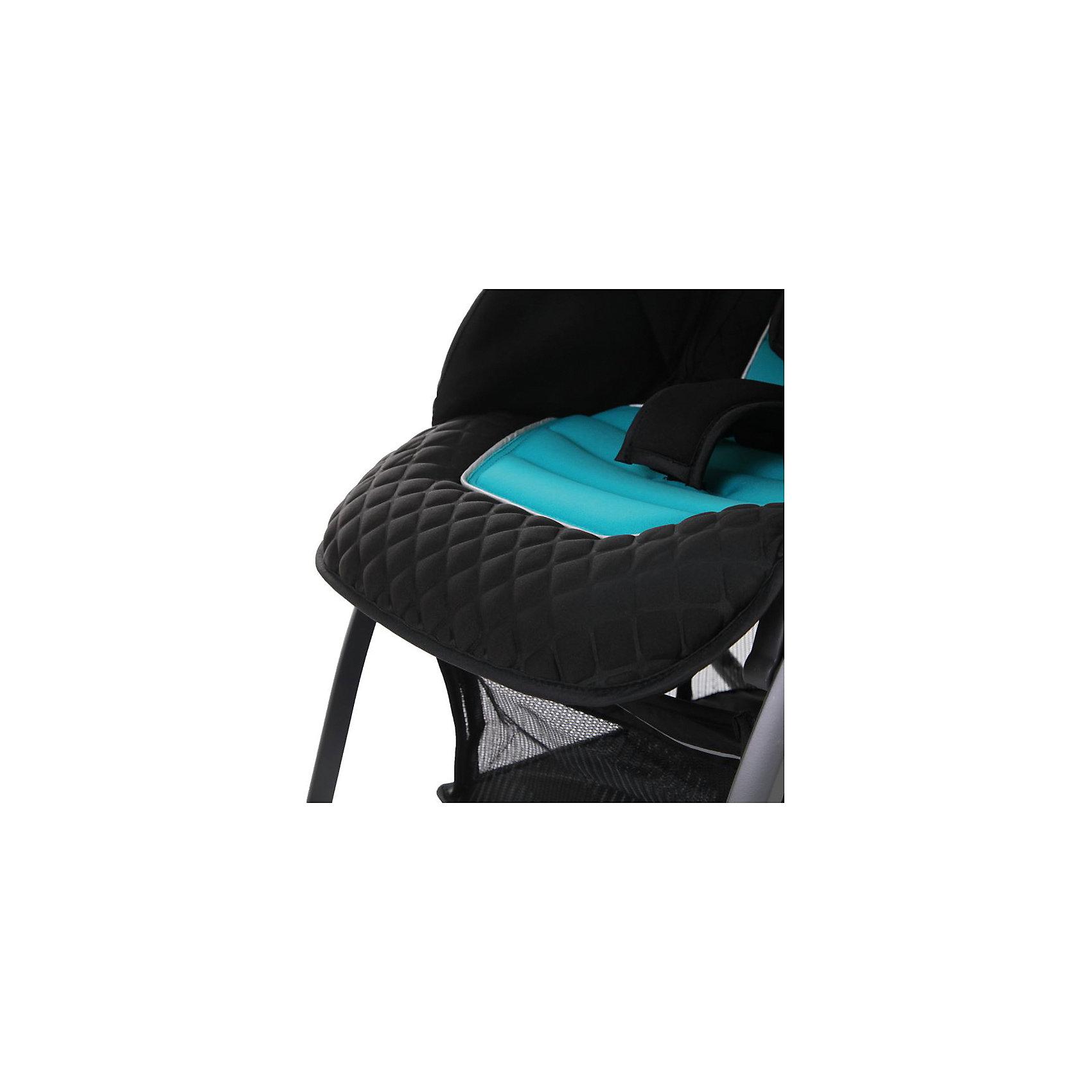 Прогулочная коляска Jetem Fit, синий