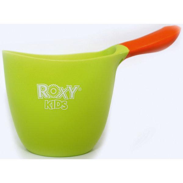 Ковшик для ванны, Roxy-kids, зеленыйКозырьки и ковши для купания<br>Ковшик имеет небольшие размеры, благодаря чему уже подросший ребенок сможет самостоятельно его использовать. Яркая контрастная ручка выполнена из прорезиненного материала ее очень удобно держать, она не выскальзывает из рук во время купания. Ковшик выполнен из высококачественных прочных материалов, не имеет острых краев, безопасен для детей. <br><br>Дополнительная информация:<br><br>- Материал: ABS пластик.<br>- Объём: 700 мл.<br>- Размер: 10х18х11см.<br>- Цвет: зеленый, оранжевый.<br>- Прорезиненная ручка. <br><br>Ковшик для ванны, Roxy-kids (Рокси-кидс), зеленый, можно купить в нашем магазине.<br>Ширина мм: 180; Глубина мм: 105; Высота мм: 90; Вес г: 130; Возраст от месяцев: 0; Возраст до месяцев: 36; Пол: Унисекс; Возраст: Детский; SKU: 3998106;