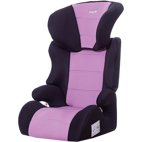 Siger Автокресло Siger Смарт, 15-36 кг, фиолетовый siger автокресло смарт цвет серый от 15 до 36 кг