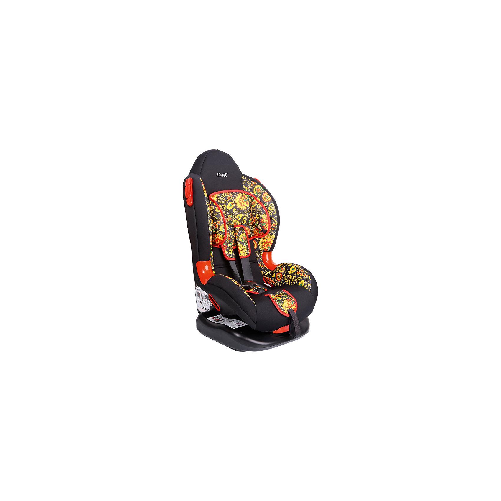 Автокресло Siger Кокон Art, 9-25 кг, хохлома