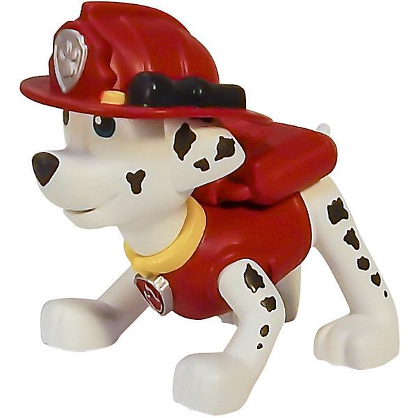 Маленькая фигурка щенка Маршал, Щенячий патруль, Spin MasterКоллекционные фигурки<br>Маршал - отважный спасатель - пожарный, который сможет справиться с любым огнем! Коллекционная фигурка из серии Paw Patrol (Щенячий патруль) прекрасно детализирована, очень реалистична - в точности повторяет облик персонажа любимого мультфильма. Собери всю коллекцию щенков-спасателей! <br><br><br>Дополнительная информация:<br><br>- Материал: пластик.<br>- Размер фигурки: 7 см. <br>- У фигурки подвижная голова.<br><br>Маленькую фигурку щенка Маршала, Щенячий патруль, Spin Master (Спин Мастер) можно купить в нашем магазине.<br>Ширина мм: 60; Глубина мм: 40; Высота мм: 50; Вес г: 554; Возраст от месяцев: 36; Возраст до месяцев: 72; Пол: Мужской; Возраст: Детский; SKU: 4004750;