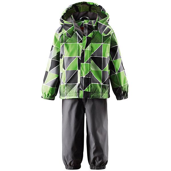Комплект: куртка и брюки для мальчика LASSIE, LASSIE by Reima, Китай, зеленый, 98, 80, 92, 86, 74, Мужской  - купить со скидкой