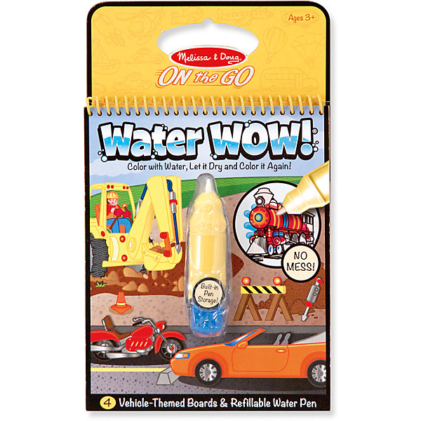 Купить Водная раскраска Транспорт , Melissa & Doug, Китай, Мужской