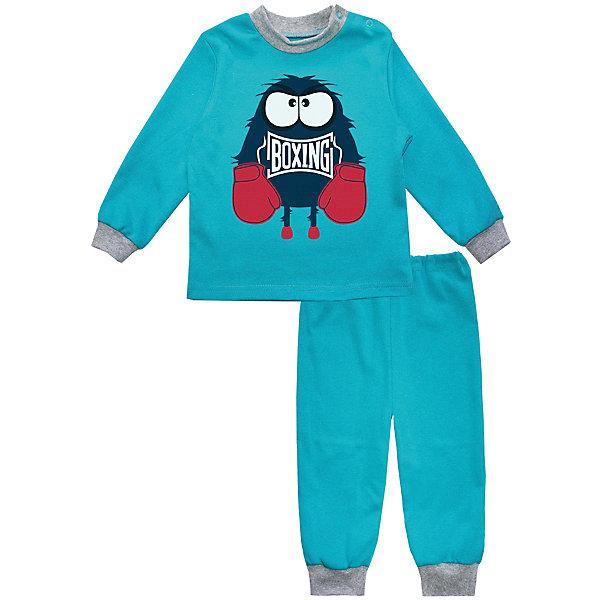 Купить Пижама для мальчика KotMarKot, КотМарКот, Россия, синий, 110, 104, 74, 80, 86, 92, 98, 116, 122, 128, Мужской