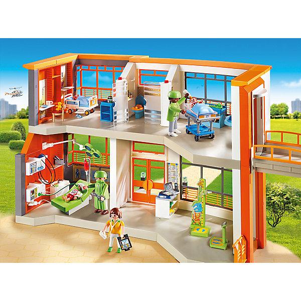 цена на PLAYMOBIL® Детская клиника: Меблированная детская больница, PLAYMOBIL