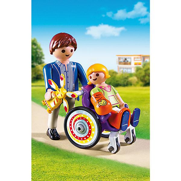 Фотография товара детская клиника: Ребенок в коляске, PLAYMOBIL (4012468)