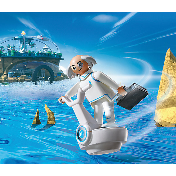 PLAYMOBIL® Конструктор Playmobil Супер 4 Доктор Икс конструкторы playmobil носорог с носорожком
