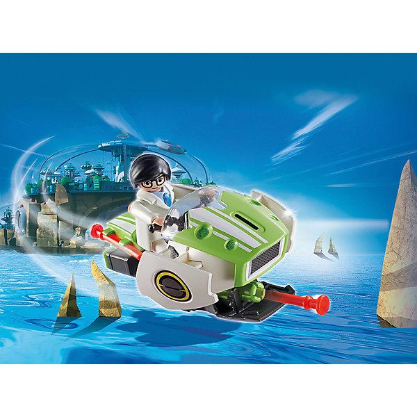 PLAYMOBIL® Конструктор Playmobil Супер 4 Скайджет конструкторы playmobil носорог с носорожком