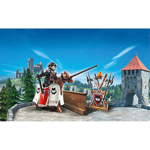 PLAYMOBIL® Конструктор Playmobil Супер 4 Рыцарь Райпан, Стражник Черного Барона конструкторы playmobil носорог с носорожком