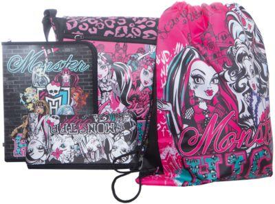 Подарочный набор с пеналом, Monster High, артикул:4023023 - Сумки