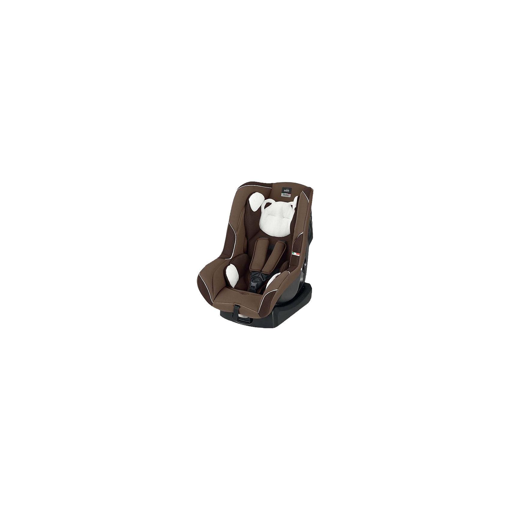 Автокресло CAM с подголовником Auto Gara, 0-18 кг, коричневый