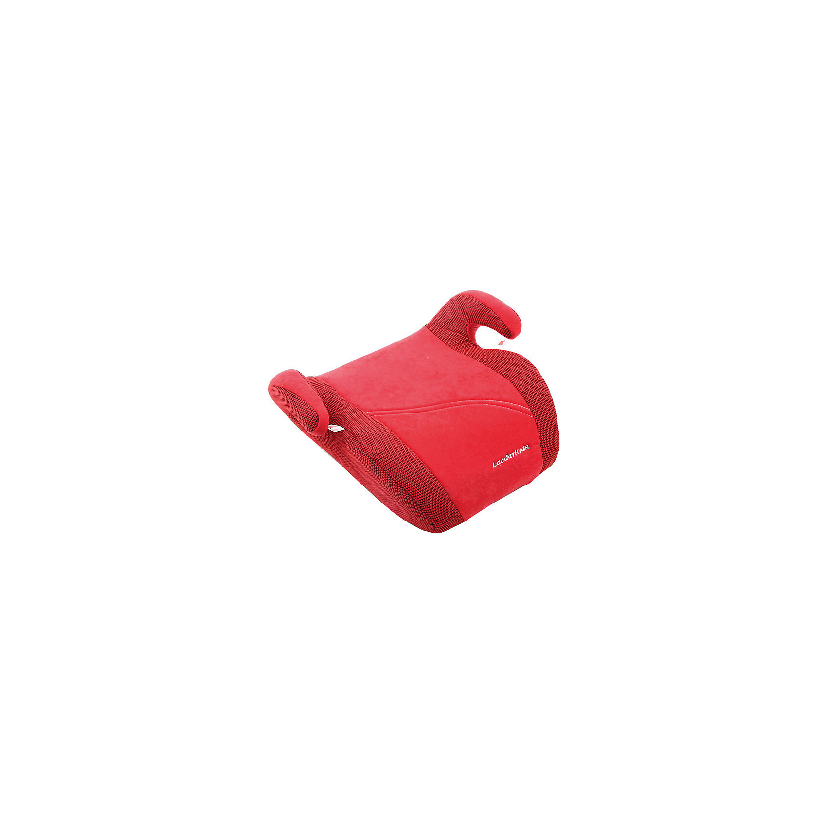 Автокресло-бустер 22-36 кг., Leader Kids, красный велюр (Leader kids)