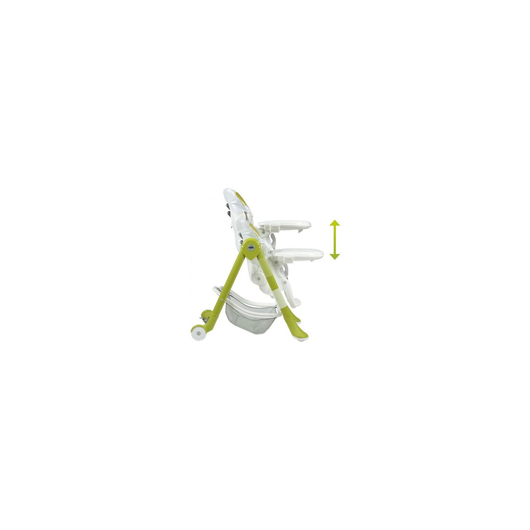 Стульчик для кормления Campione Мишка, CAM, зеленый
