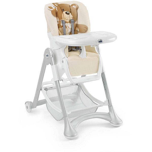 CAM Стульчик для кормления Campione Мишка, CAM, серо-бежевый стульчик для кормления cam cam стульчик для кормления campione elegant коричневый белый