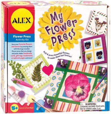 Набор для создания гербариев и открыток, ALEX, артикул:4027691 - Рукоделие и поделки