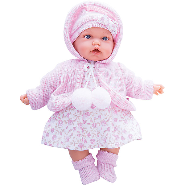 Купить Кукла Азалия в розовом, 27 см, Munecas Antonio Juan, Испания, Женский