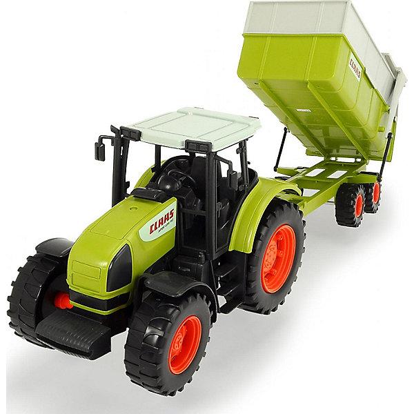 цена на Dickie Toys Трактор Dickie Toys Claas с прицепом, 57 см