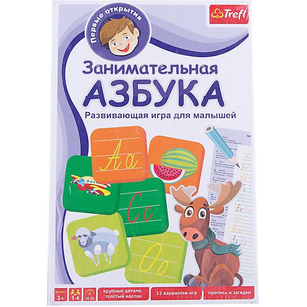 Trefl Игра Занимательная Азбука, Trefl trefl обучающая игра занимательная азбука 01101
