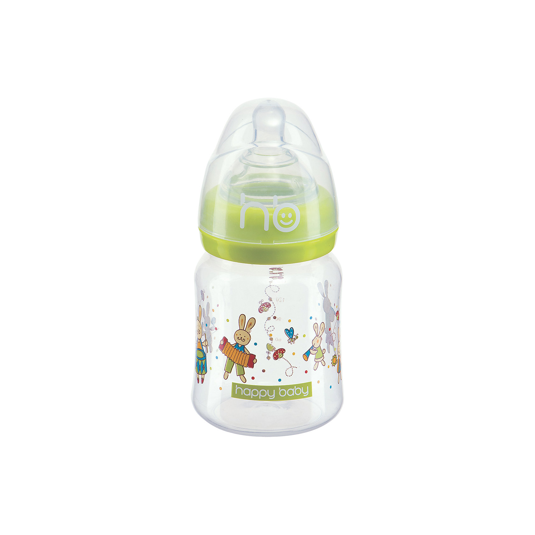 Бутылочка для кормления  Funny Bunny, 150 мл, Happy Baby